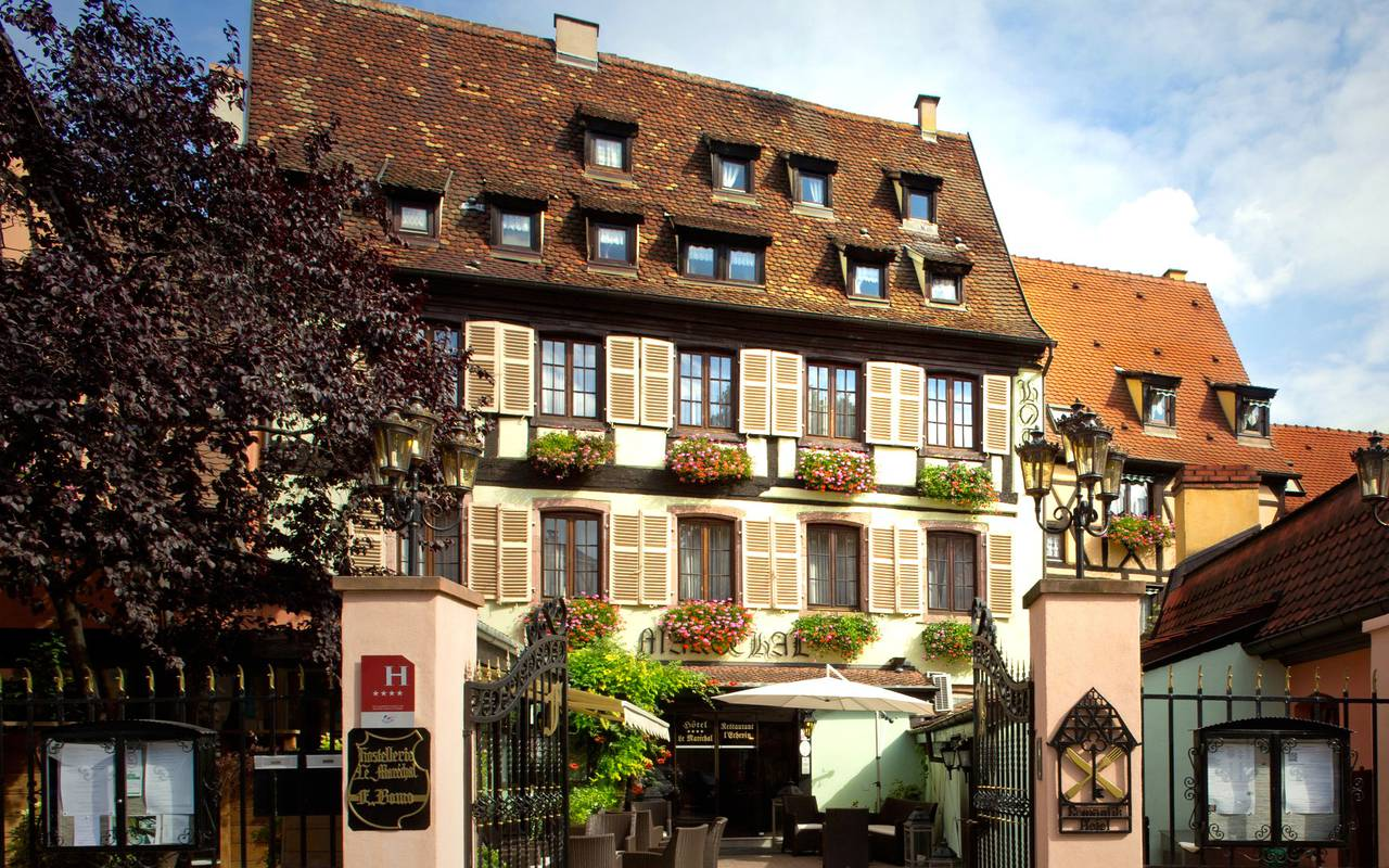 Le mar chal luxury hotel in colmar france alsace for Hotels colmar