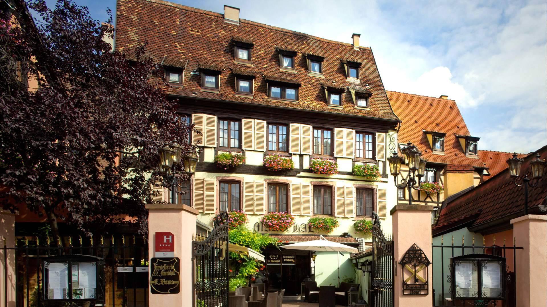 Le Marechal Luxury Hotel In Colmar France Alsace