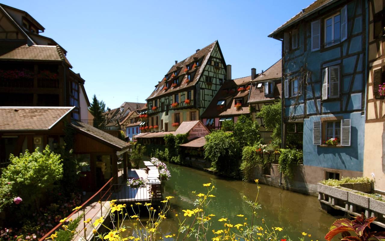 Hôtel avec restaurant donnant sur le canal hôtel de charme Alsace Le Maréchal